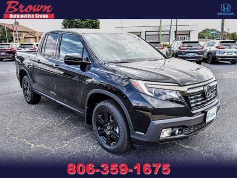 New 2019 Honda Ridgeline BLACK EDITION AWD