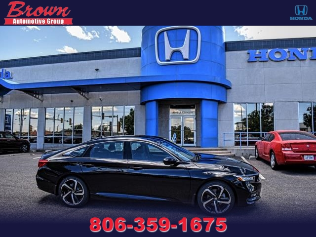 New 2019 Honda Accord Sedan Sport 1.5T Manual