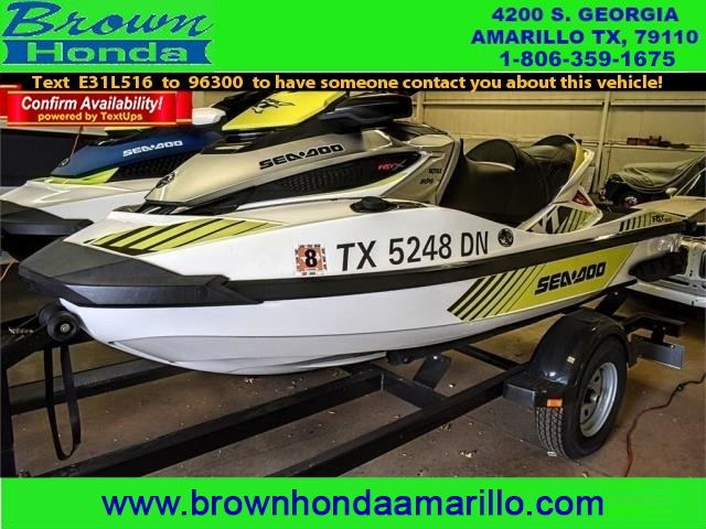 Pre-Owned 2016 Seadoo RXT 300