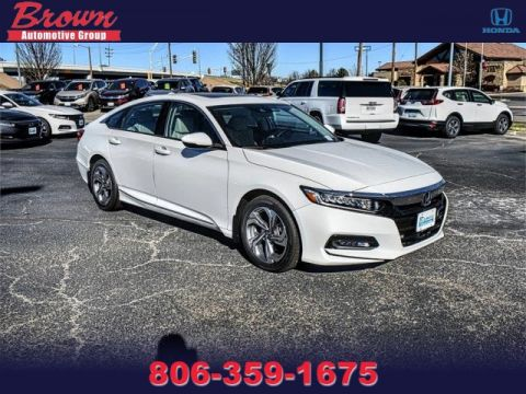 New 2019 Honda Accord Sedan EX-L 1.5T CVT