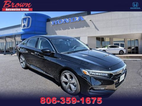 New 2018 Honda Accord Sedan Touring 1.5T CVT