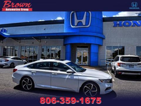 New 2019 Honda Accord Sedan SPORT 2.0T AUTO