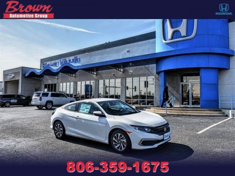 New 2019 Honda Civic Coupe LX CVT