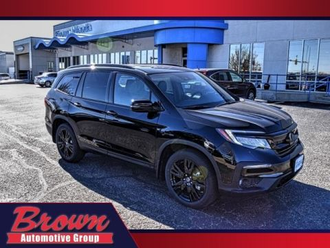 New 2020 Honda Pilot Black Edition 7P
